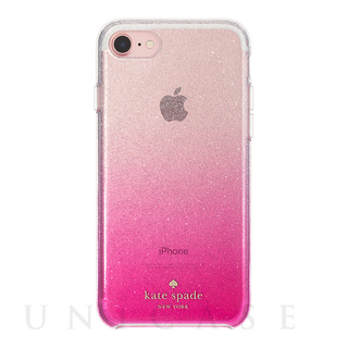 【iPhone7 ケース】1PC Comold (Glitter Ombre Pink/Silver Glitter/Clear)