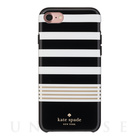 【iPhone7 ケース】1PC Comold (Stripe 2 Black/White/Gold Foil)【人気ブランド】