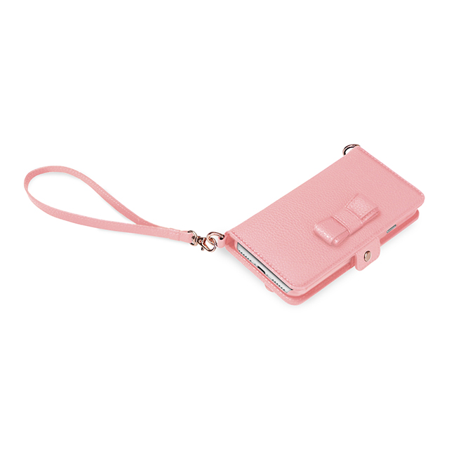 【iPhone8/7 ケース】Julia PhonePochette (ライトピンク)