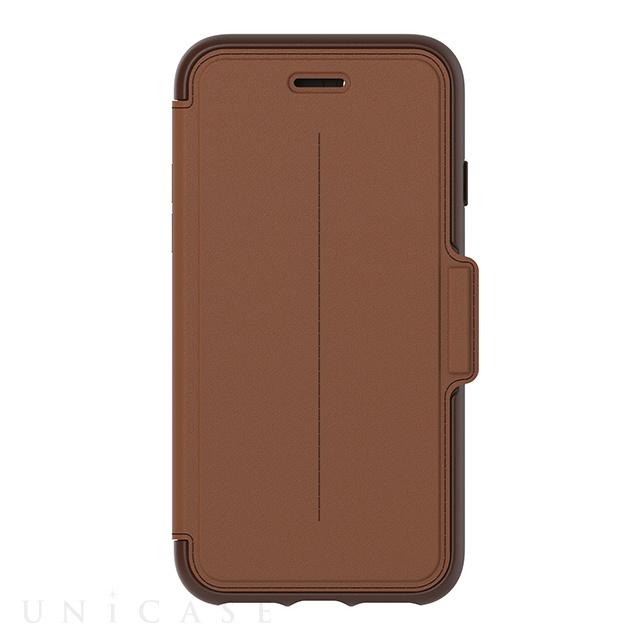 【iPhone7 ケース】Stradaシリーズ ブラウン (BURNT SADDLE)