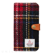 【iPhone8/7 ケース】RILEGA Harris Tweed Flip (タータンチェック)