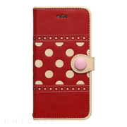 【iPhone8/7 ケース】POLKA DOT (Red)