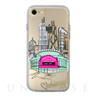 【iPhone7/6s/6 ケース】Hybrid Tough Naked Case Designers CITY Prints (CHICAGO/PLAY BALL)
