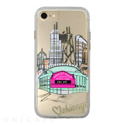 【iPhone8/7/6s/6 ケース】Hybrid Tough Naked Case Designers CITY Prints (CHICAGO/PLAY BALL)