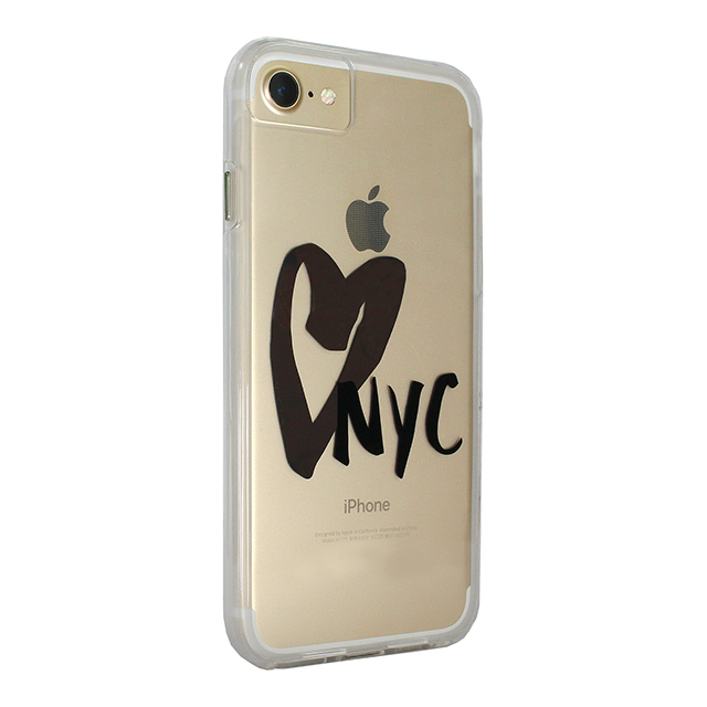 【iPhone8/7/6s/6 ケース】Hybrid Tough Naked Case Designers CITY Prints (NEW YORK/I HEART NYC)サブ画像