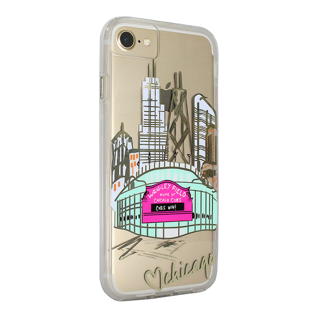 【iPhone8/7/6s/6 ケース】Hybrid Tough Naked Case Designers CITY Prints (CHICAGO/PLAY BALL)サブ画像