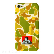 【iPhone8/7 ケース】BEN DAVIS SILICONE iPhone case (CAMO/WHITE)