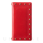 【iPhone7 ケース】Luxury Stud (Red)