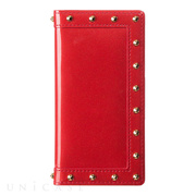 【iPhone8/7 ケース】Luxury Stud (Red)