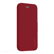 【iPhone8/7 ケース】KICK FOLIO (Cherry Red)