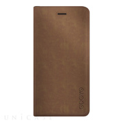 【iPhoneSE(第2世代)/8/7 ケース】SPIN FOLIO (Coffee Brown)