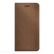 【iPhone8 Plus/7 Plus ケース】SPIN FOLIO (Coffee Brown)