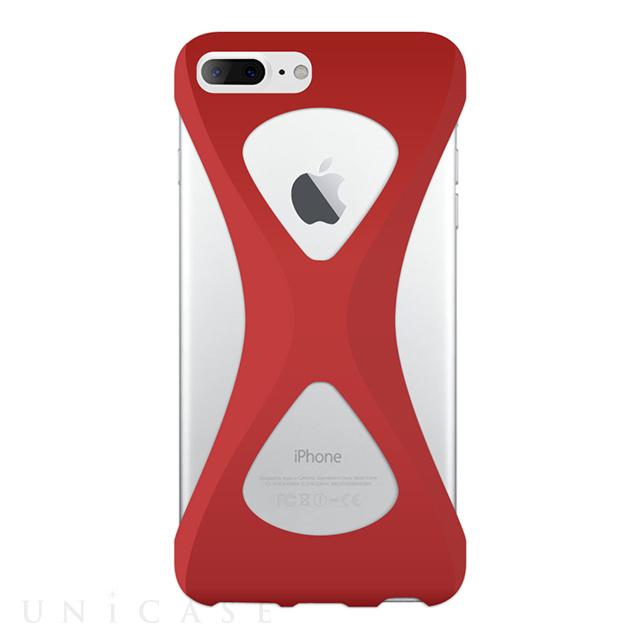 【iPhone8 Plus/7 Plus ケース】Palmo (Red)