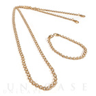 Shoulder Pearl Chain (Gold)