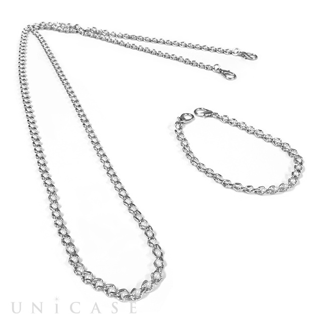 Shoulder Pearl Chain (Silver)