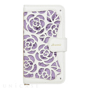 【iPhone8/7 ケース】La Roseraie (Purple)