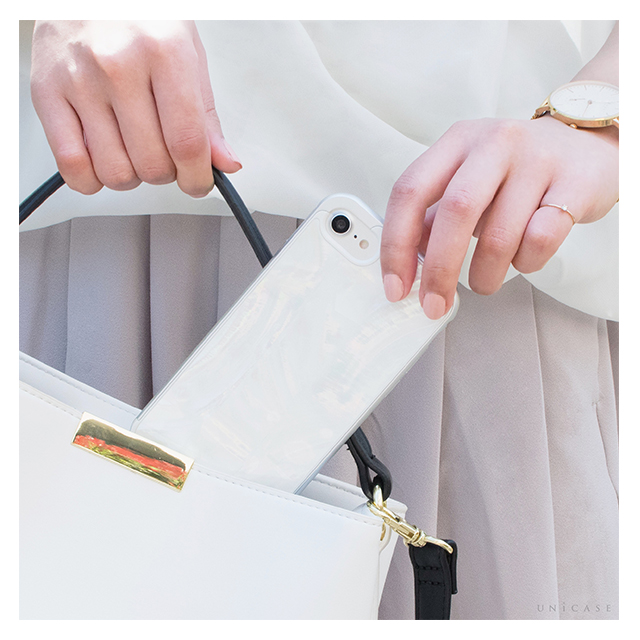 【iPhone6s/6 ケース】Shell case for iPhone6s/6(WHITE) ≪emmaセレクト≫サブ画像