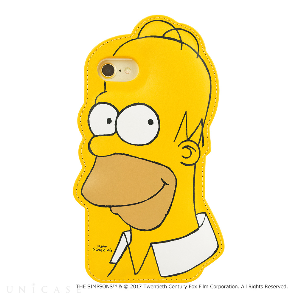 【iPhone8/7/6s/6 ケース】THE SIMPSONS DIE-CUT for iPhone7/6s/6(HOMER)