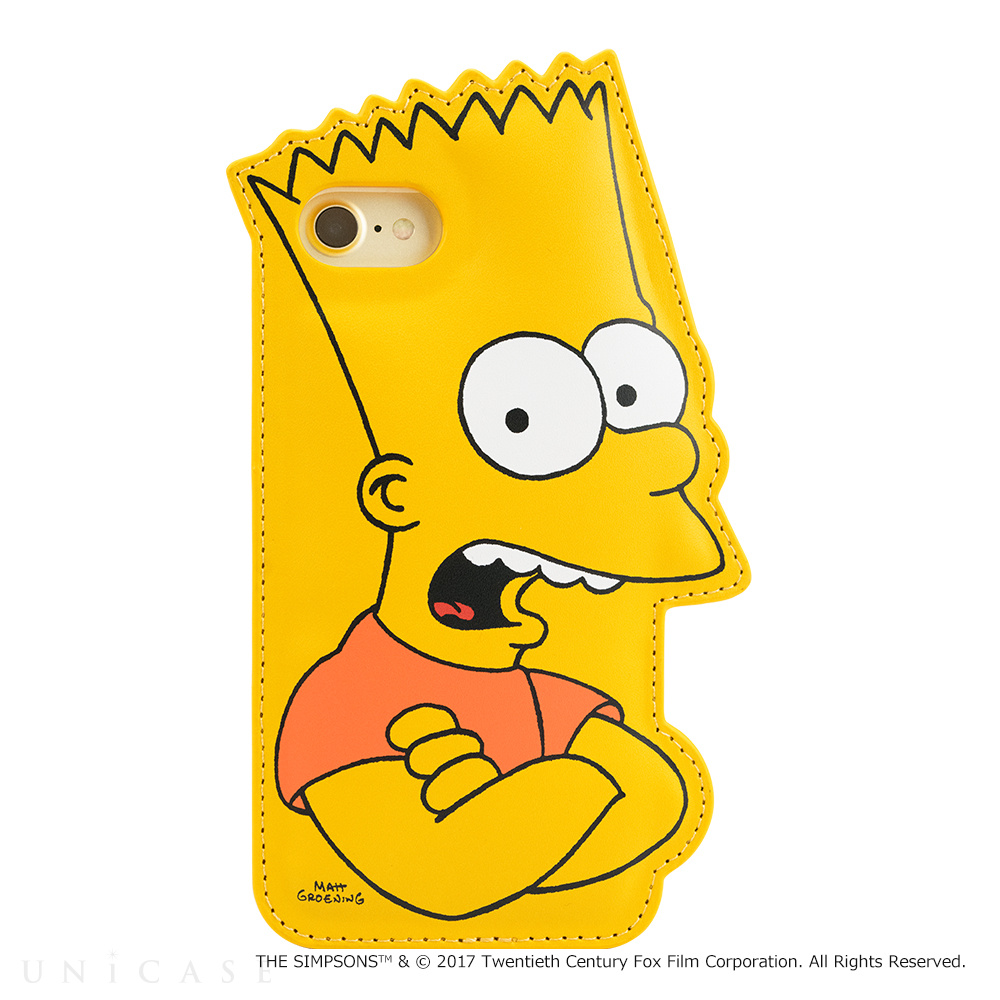 【iPhone7/6s/6 ケース】THE SIMPSONS DIE-CUT (BART)