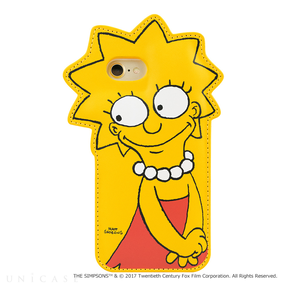 【iPhone8/7/6s/6 ケース】THE SIMPSONS DIE-CUT for iPhone7/6s/6(LISA)