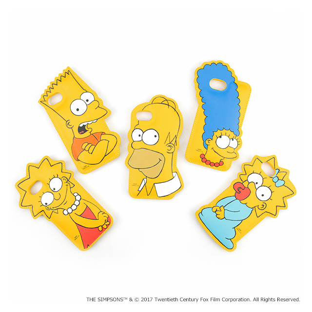 【iPhone8/7/6s/6 ケース】THE SIMPSONS DIE-CUT for iPhone7/6s/6(LISA)サブ画像