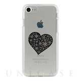 【iPhone8/7 ケース】CLEAR CASE (snow heart)