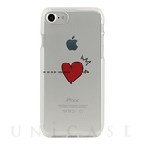【iPhone8/7 ケース】CLEAR CASE (pop heart)
