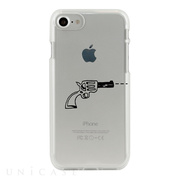 【iPhone8/7 ケース】CLEAR CASE (pop gun)