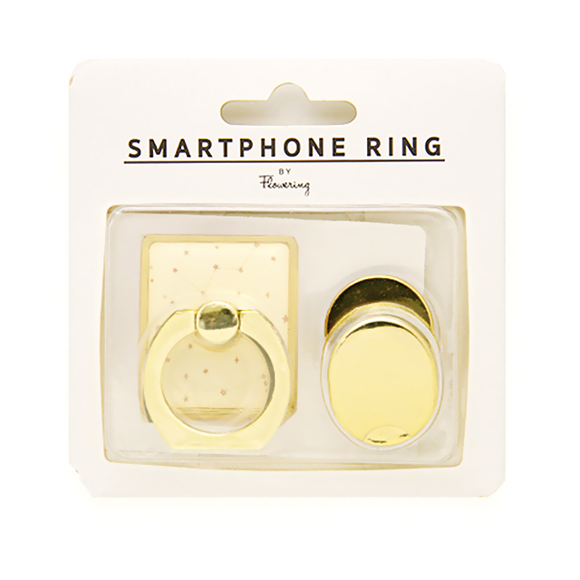 SMARTPHONE RING (モノトーン/レッド)