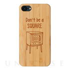 【iPhone7 ケース】kibaco (DON'T BE A SQUARE)