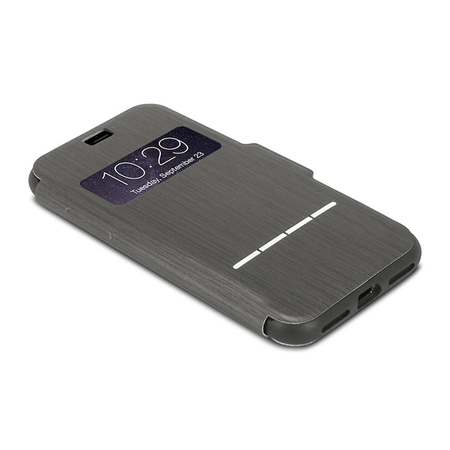 【iPhone8/7 ケース】SenseCover (Charcoal Black)