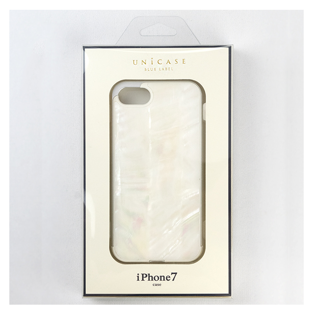 【iPhone8/7 ケース】Shell case (WHITE)サブ画像