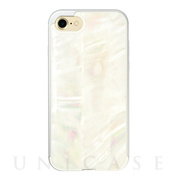 【iPhone8/7 ケース】Shell case (WHITE)