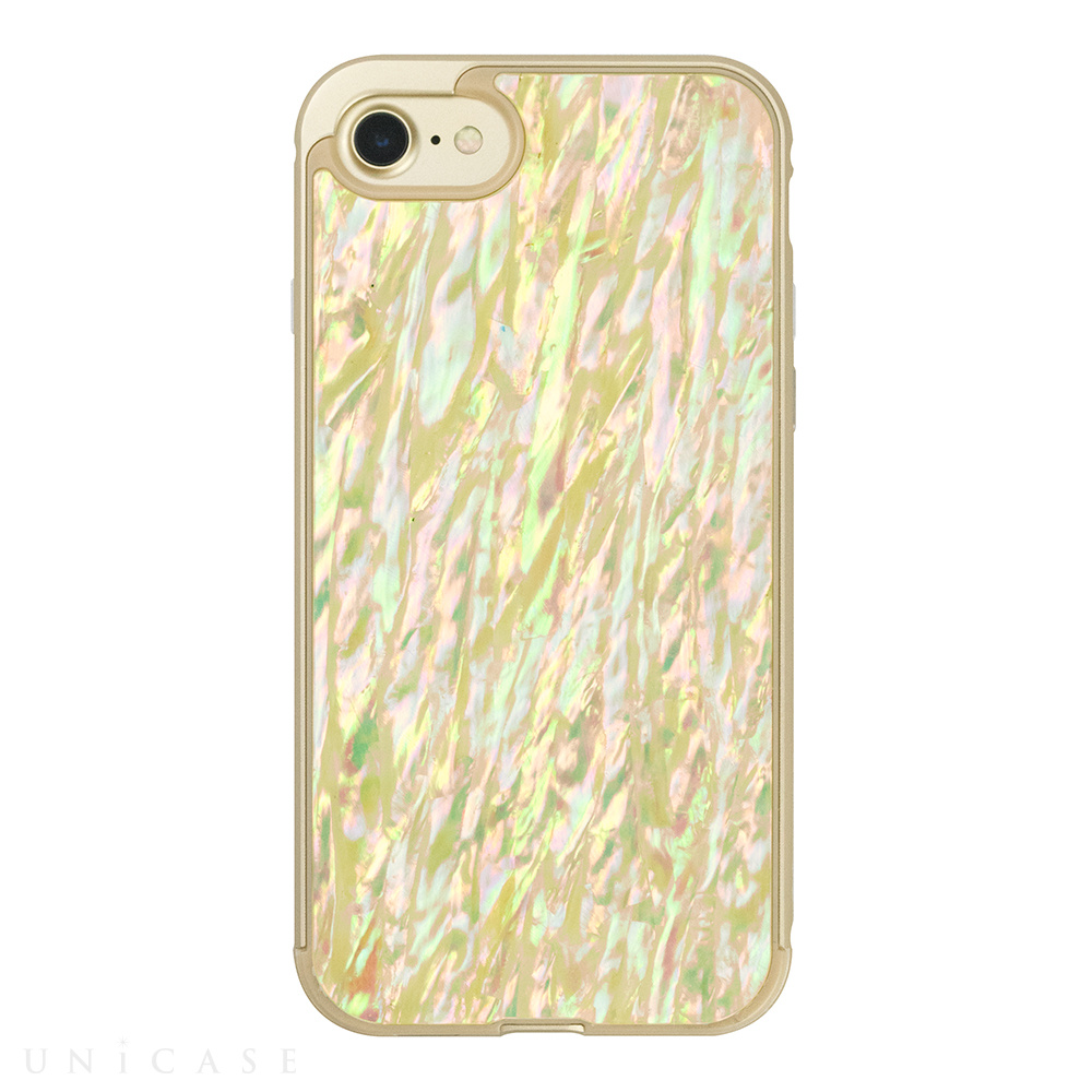 【iPhone8/7 ケース】Shell case (GOLD)