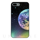 【iPhone7 Plus ケース】Twinkle Case Earth&Moon (Earth Right)