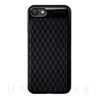 【iPhone7 ケース】Texture case (Hexagon Black)