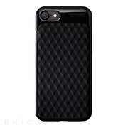 【iPhoneSE(第2世代)/8/7 ケース】Texture case for iPhone7(Hexagon Black)