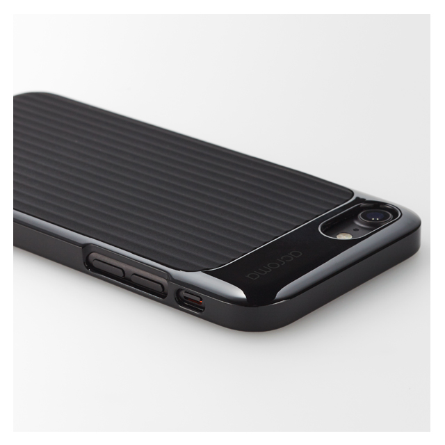【iPhone8/7 ケース】Texture case for iPhone7(Line Black)サブ画像