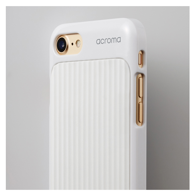【iPhone8/7 ケース】Texture case for iPhone7(Line White)サブ画像