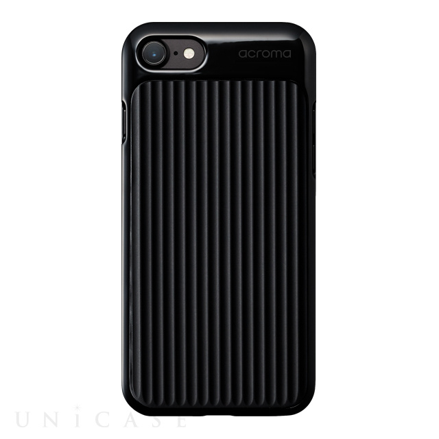 【iPhone8/7 ケース】Texture case for iPhone7(Line Black)