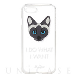 【iPhone8/7 ケース】CAT CASE CLEAR for iPhone7