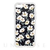 【iPhone8/7 ケース】Flower Series for iPhone7(Navy)