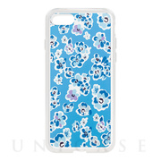 【iPhoneSE(第2世代)/8/7 ケース】Flower Series for iPhone7(Blue)