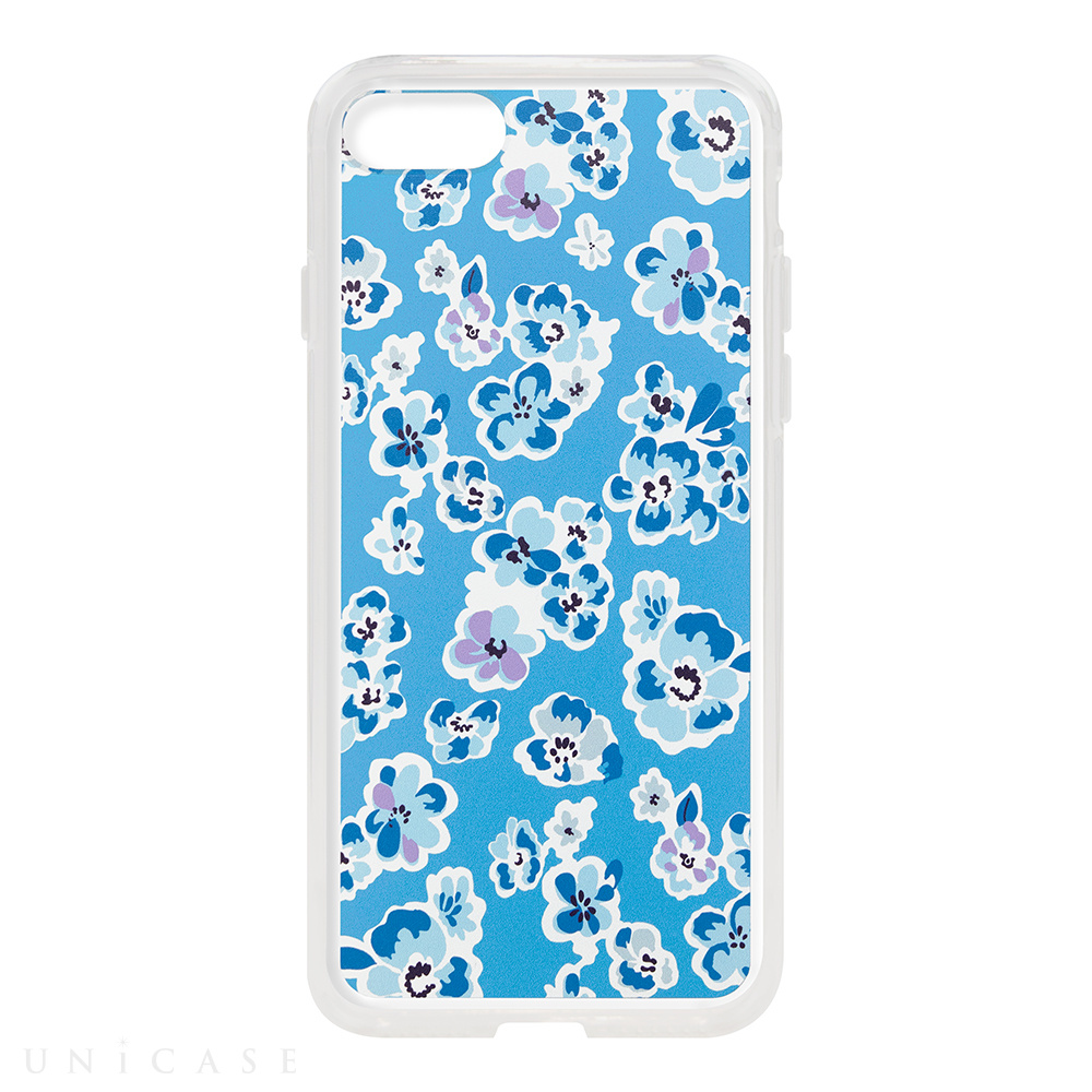 【iPhone8/7 ケース】Flower Series for iPhone7(Blue)