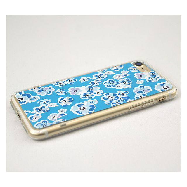 【iPhone8/7 ケース】Flower Series for iPhone7(Blue)サブ画像