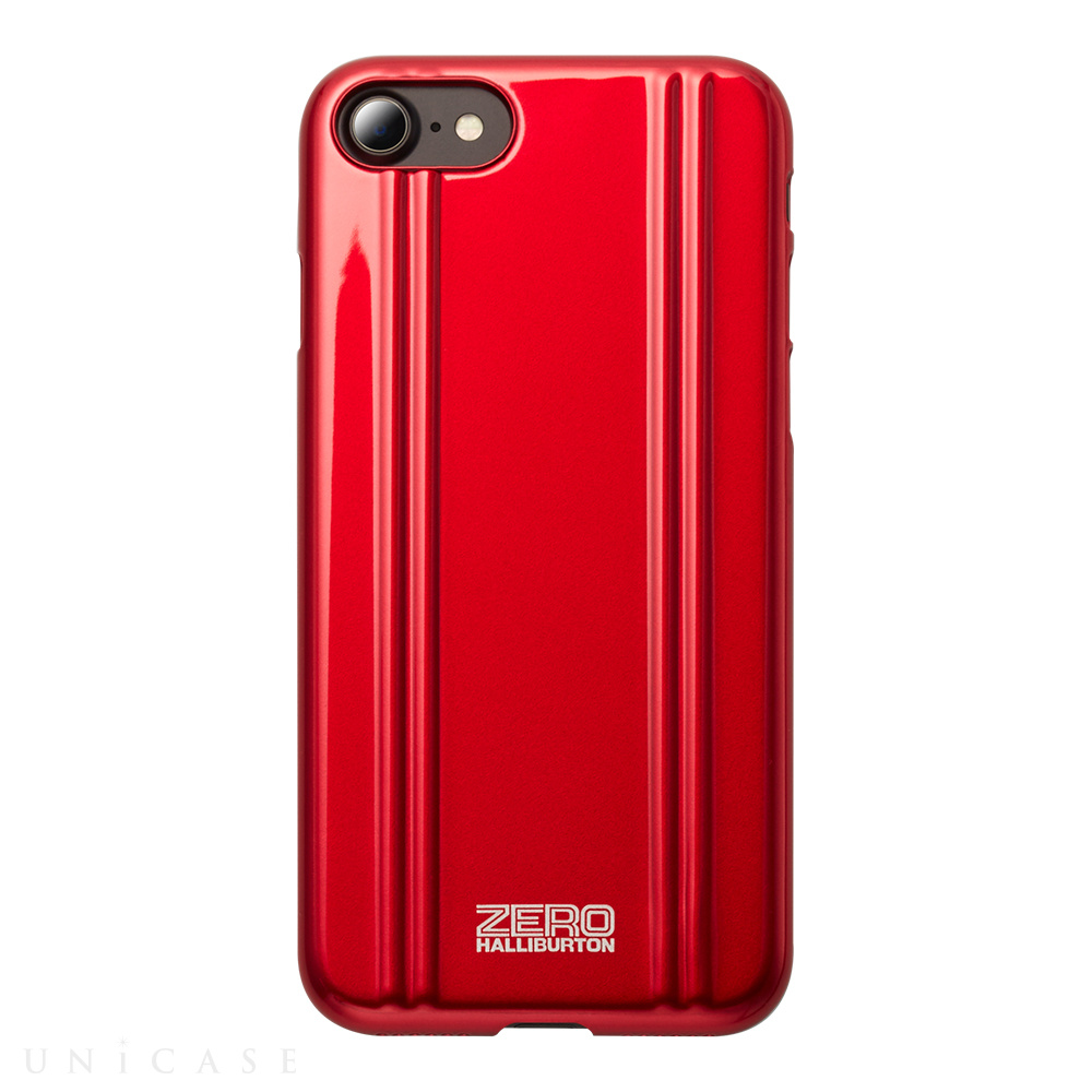 【iPhone8/7 ケース】ZERO HALLIBURTON PC for iPhone8/7(RED)