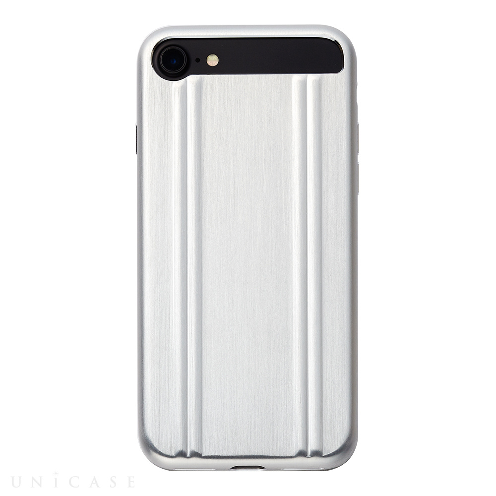 【iPhone7 ケース】ZERO HALLIBURTON for iPhone7(SILVER)