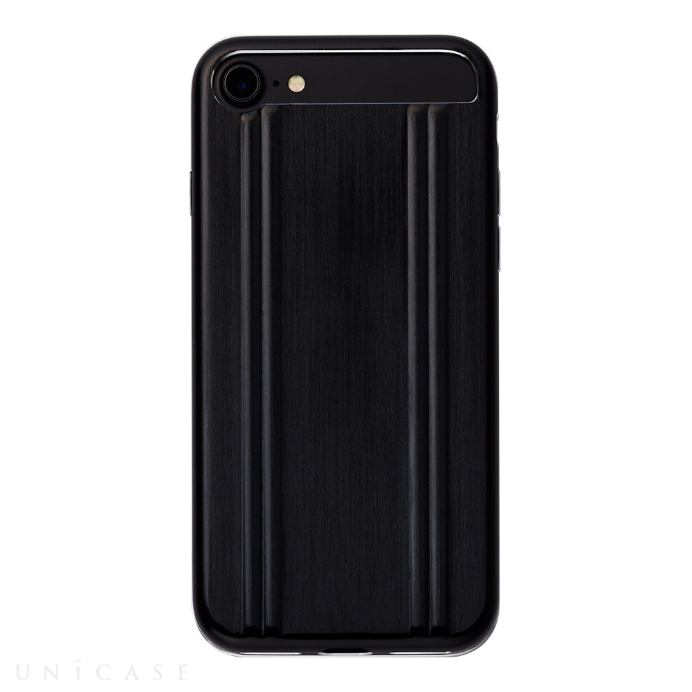 【iPhone7 ケース】ZERO HALLIBURTON for iPhone7(BLACK)
