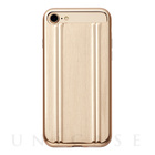 【iPhone7 ケース】ZERO HALLIBURTON for iPhone7(GOLD)