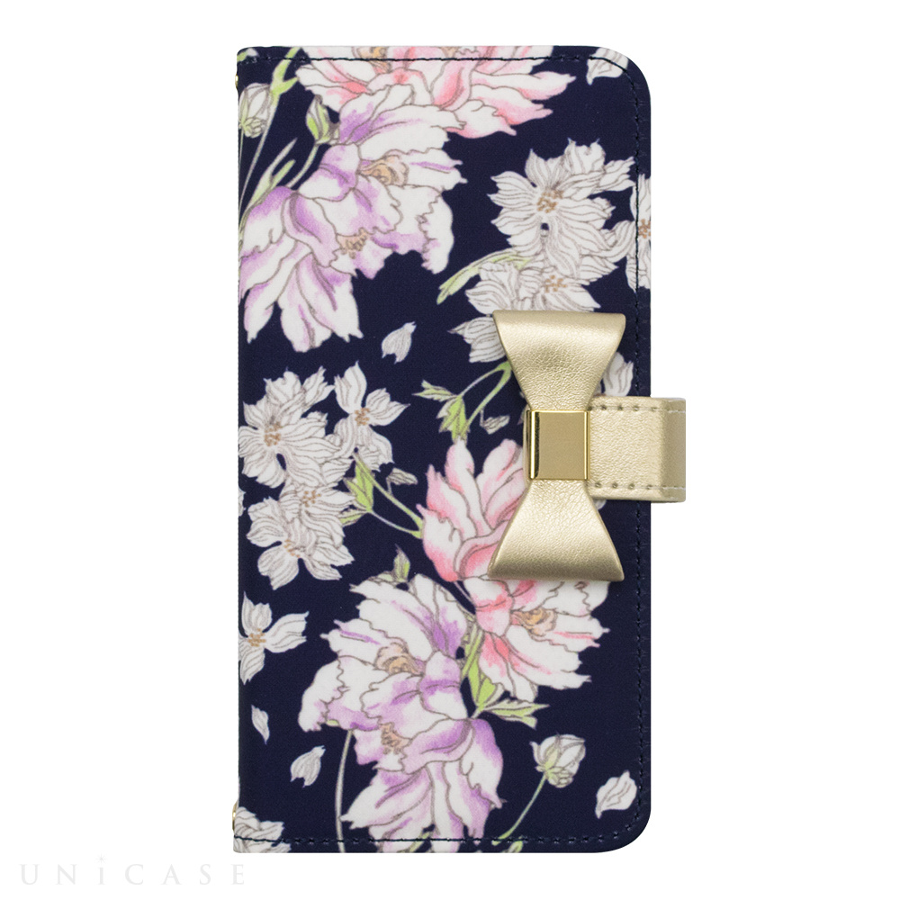 【iPhone8/7/6s/6 ケース】Flower Series wallet case for iPhone7/6s/6(Chic Peony)